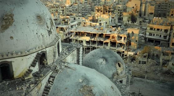 TOPSHOTS-SYRIA-CONFLICT-CLASHES-HOMS