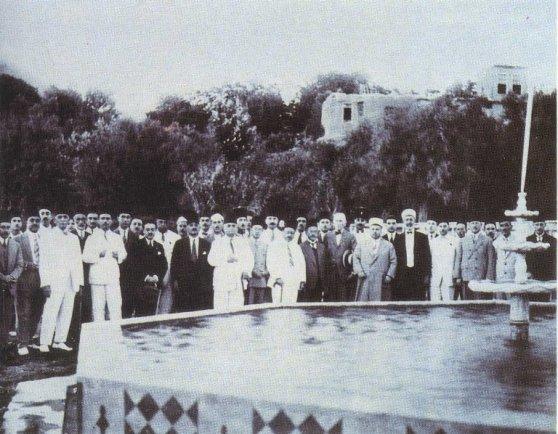 افتتاح مشروع مياه الفيجة في دمشق